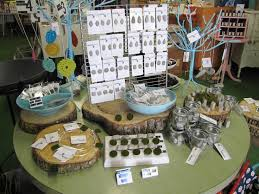 Cute Shop Display Ideas This Is The Raine Design Jewelry Collection Featured At Yellow Umbrella A Handmade Gift In Bemidji MN