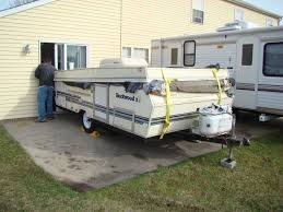 It Is Or More Appropriately Was A 1993 Rockwood XL Pop Up Fully Loaded We Paid 200 For The Unit And Picked Last Weekend Of March