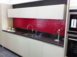 Glass Worktop Kitchen Splashback Textured