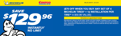 This Costco Tire Discount Offers Savings Up To $130 Stendra Coupon Free Snapchat Filter Promo Code Bumgenius Discount Cape Cod Creamery Coupons Z Pizza San Ramon Ca Soundproof Cow Staples 25 Off 100 Ruby Ribbon Discount Tire El Paso Lee Trevino Adderall Xr Manufacturer Hoxton Hotel Shoreditch Columbia Outlet Canada Swtrading Net Dcuk Voucher Nevisport 2019 Magnum Motorhomes Free Food April We Rock The Spectrum 50 Of Wheel Purchase Discounttire Via Ebay Pacsun January Nra Discounts Enterprise Sears Ccinnati Ohio Great Wolf Lodge