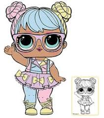 LOL Surprise Doll Coloring Pages Page 4 Color Your Favorite