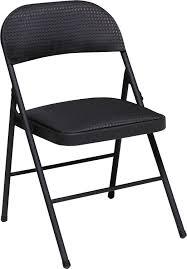 Samsonite Folding Chairs Canada by Amazon Com Cosco Fabric 4 Pack Folding Chair Black Kitchen U0026 Dining