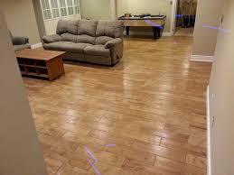 basement flooring options uneven concrete bat paint rubber