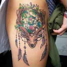 If You Love Wildlife Or Even Hunting Then Are Sure To This Tattoo There Some Amazing Colors Involved