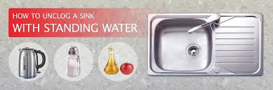 Unclogging A Bathroom Sink Baking Soda by How To Unclog A Sink A Diy Guide London Drainage Services