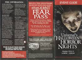 Halloween Horror Nights Frequent Fear Pass by Universal Halloween Horror Nights 2008 Event Guide Fron U2026 Flickr