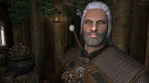 Witcher 3 Geralt of Rivia Preset at Skyrim Nexus mods and munity