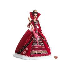 Amazoncom Barbie 2004 Legends Of Ireland Faerie Queen Redhead Doll