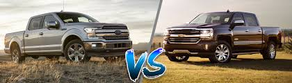100 Ford Trucks Vs Chevy Trucks 2018 F150 V 2018 Silverado 1500