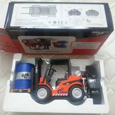 100 Rc Gas Trucks RC Children Toys 116 Scale 68t Forklift Truck Wireless