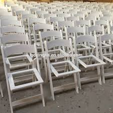 Hercules Padded Folding Chairs by White Wood And Resin Folding Chairs For Sale Buy White Wood