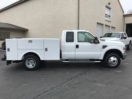 2008 FORD F350 LARIAT SERVICE - UTILITY TRUCK FOR SALE #569487