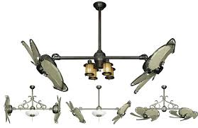 dual ceiling fan with light ceiling designs