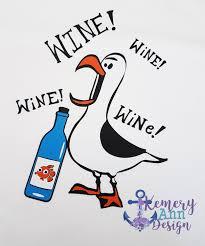 Kc Pumpkin Patch Winery by Wine Wine Wine Nemo Seagull Wine Shirt Epcot Food And Wine