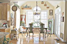 French Country Dining Room Ideas by French Country Kitchen Style Freshened Up Debbiedoos