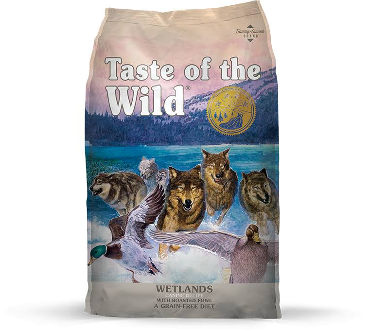 Taste of The Wild Dog Food, Wetlands, 15-Lbs.