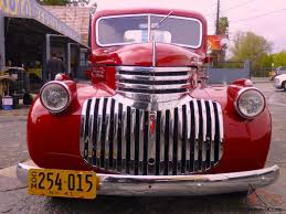 1941 Chevy Truck 3100 Short Bed V8 Dk Candy Apple Red