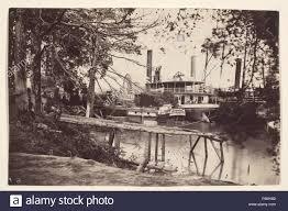 White House Landing Pamunkey River Artist Timothy H OSullivan American Born Ireland 1840 1882 Mathew B Brady