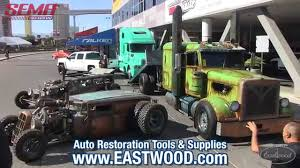 WelderUp Rat Rod Car Hauler Tractor At SEMA 2015 - Vegas Rat Rods ...