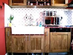 porte de cuisine en bois brut meuble de cuisine en bois facade meuble cuisine bois brut pour idees