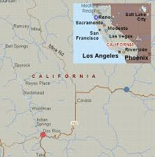 Mendocino County Black Butte River To Dos Rios Section Road Map