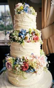 Colourful Homemade Village Hall Wedding Flowers Rustic Cake Home Baked Hollydeacondesign