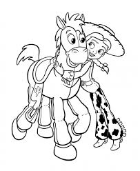 Jessie Hugs The Horse
