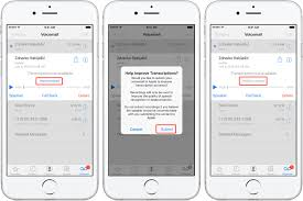 How to use voicemail transcription on iPhone