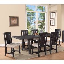 7 Piece Dining Room Set Walmart by Modus Yosemite 7 Piece Rectangular Dining Table Set With Mixed