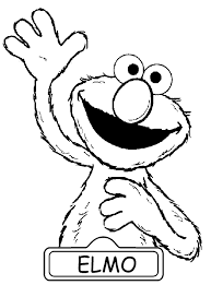 Elmo Coloring Pages To Print 2