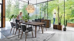 naturholzmöbel für ihr esszimmer flaye tisch aye stuhl cubus anrichte team 7