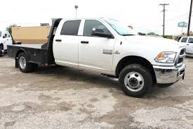 New 2018 Ram 3500 Flatbed For Sale In New Braunfels, TX | #TG325335