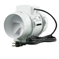 Do Duct Free Bathroom Fans Work by Inductor 6 In In Line Duct Fan Db206 The Home Depot