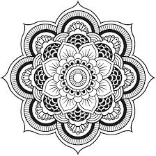 Full Image For Free Online Mandala Coloring Pages Adults Pictures