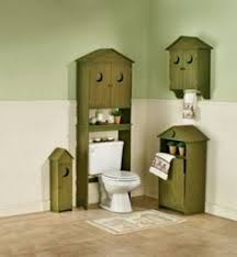 set of 3 new country primitive wood outhouse bathroom home decor