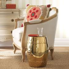 Copper garden decor living room gold garden stool garden inspired