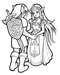 Surprising Zelda Coloring Book Link And By Hop41 On DeviantArt