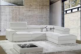 canape d angle en cuir blanc canap mobilier privé