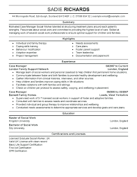 Sample Resume For Case Manager With No Experience Worker Nurse Emergency Room In