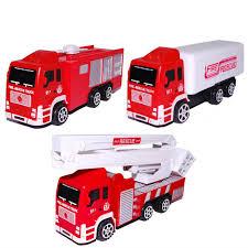 100 Fire Truck Kids 1pc Boys Toy Car Simulation Ladder Water Tank Model