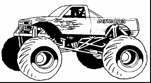100 Monster Truck Coloring Avenger Pages With Love Color S Exploit