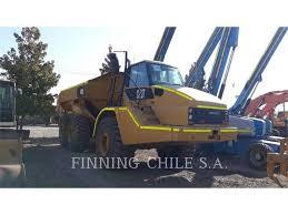 100 Caterpillar Chile 740 Articulated Dump Trucks ADTs Construction