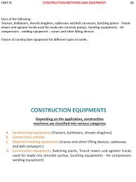 Construction Technology | Heavy Equipment | Concrete