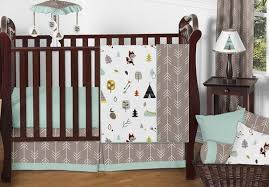 outdoor adventure nature baby bedding 11pc crib set by sweet