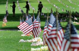 memorial day graveside decorations memorial day boy scouts of america may 29