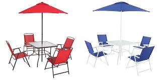 Walmart Patio Tables Only by Walmart Com Mainstays 6 Piece Folding Dining Set Only 87 Shipped