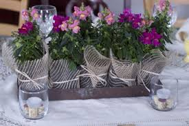 Wine Party Centerpiece Themed Dinner Settings