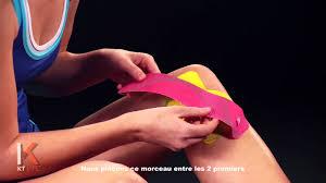 intérieur du genou kt inner knee