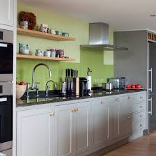 Grey And Green Traditional Kitchen