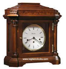 Bulova Table Clocks Wood by Bulova Mantel Clock B5505 Charleroi